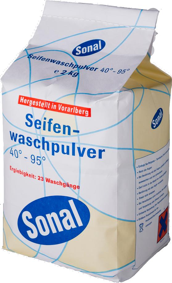 Seifenwaschpulver 40° - 95° 2kg