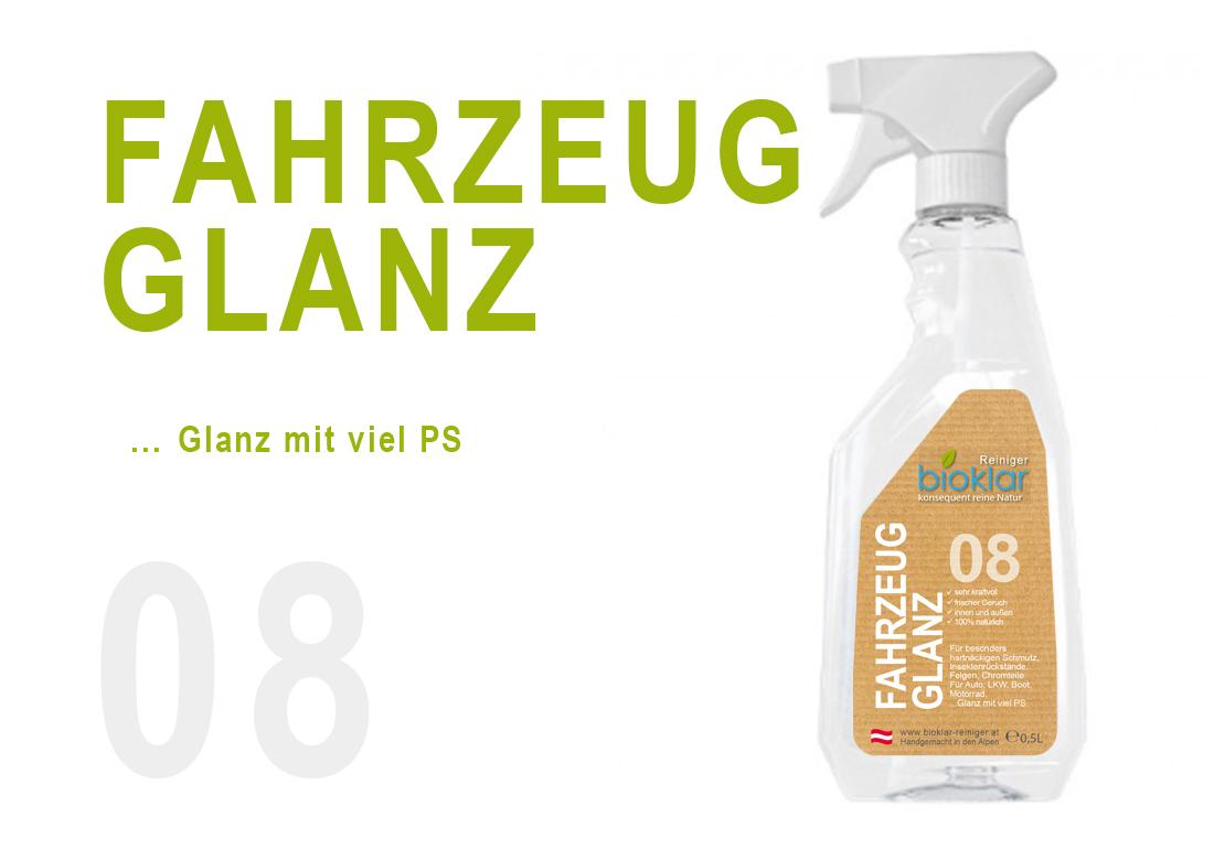 08 FAHRZEUG GLANZ - 0,5 L