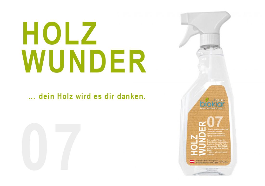 07 HOLZ WUNDER - 0,5 L